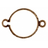 Connector - Setting 14mm 2Loop Antique Brass